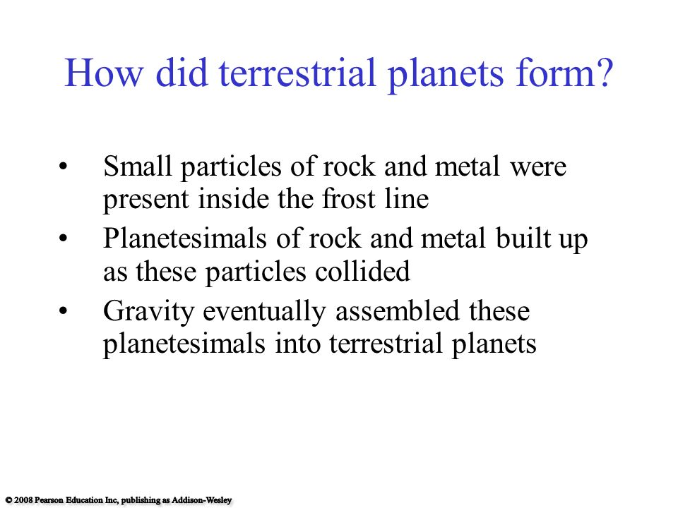 Chapter 8 Formation of the Solar System - ppt download
