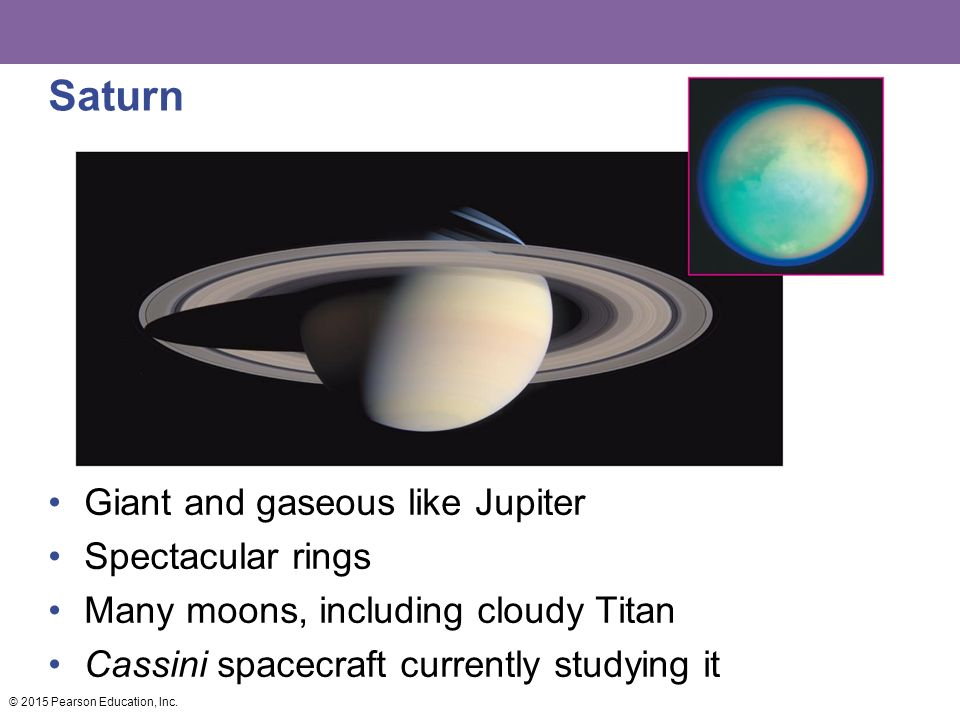 Saturn Giant and gaseous like Jupiter Spectacular rings