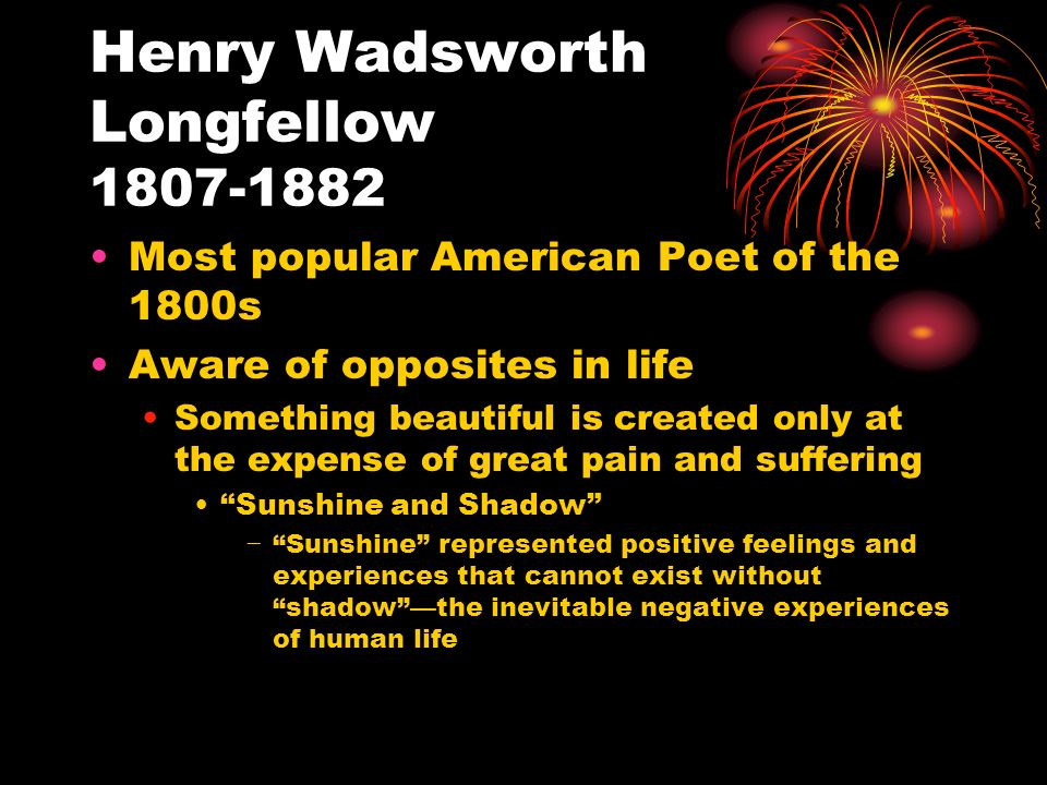 the subtle use of patriotism in the works of henry wadsworth longfellow Thackeray's satire is caustic and his humor subtle 3 pay attention to morility 1 show superb conception and execution and include much favoral feminist criticism 2.