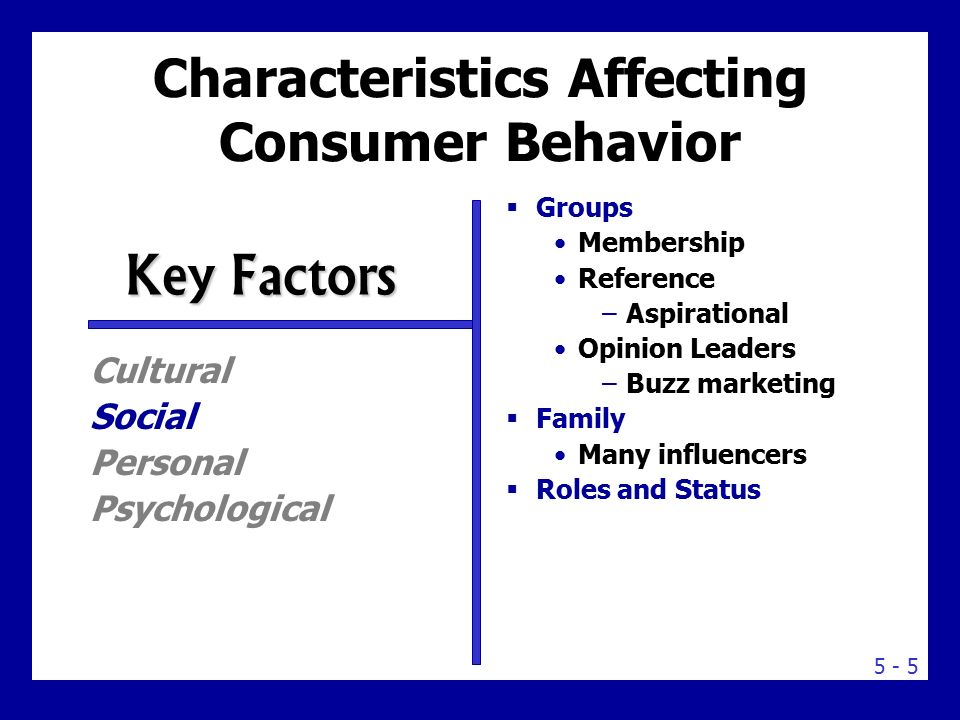 key aspects of consumer behavior Consumer attitudes and behavior towards ikea  the price and product kind is the key reasons for  there are many main aspects that effect on a consumer's.