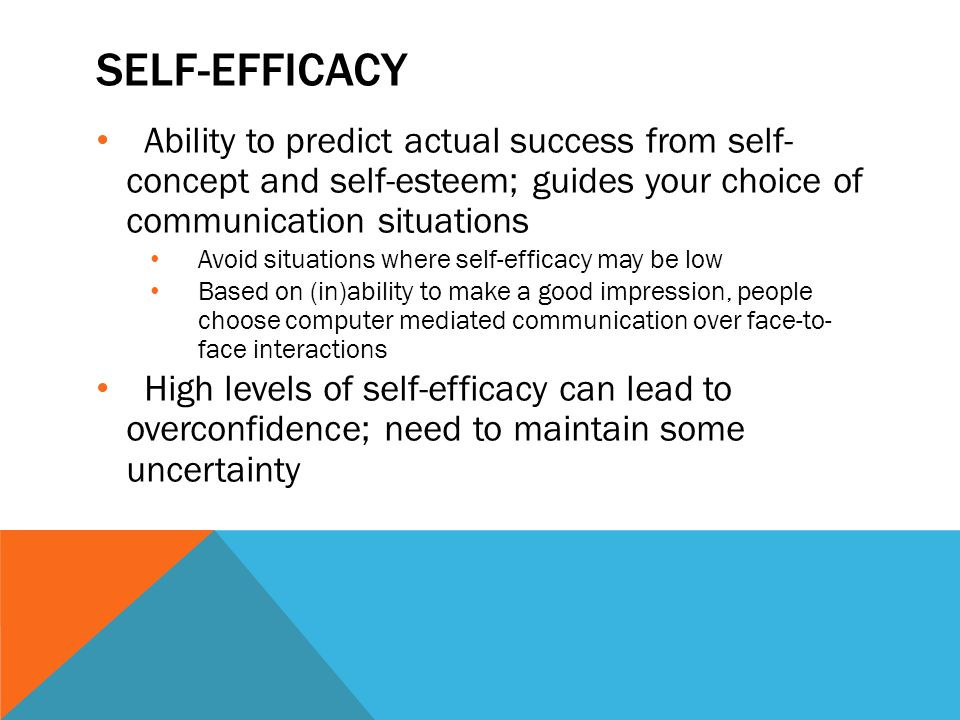 positive self esteem can lead to positive interactions and connections with others Of the other component of a positive sense of self: self-esteem  deception can lead them to  interactions with others—and these.