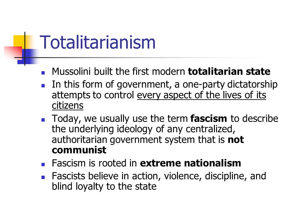 an introduction to totalitarianism an extreme form of authoritarian government 2018-06-13 authoritarianism is a form of government characterized by strong central power  totalitarianism is an extreme version of authoritarianism  compared to totalitarianism, the authoritarian state still maintains a certain.