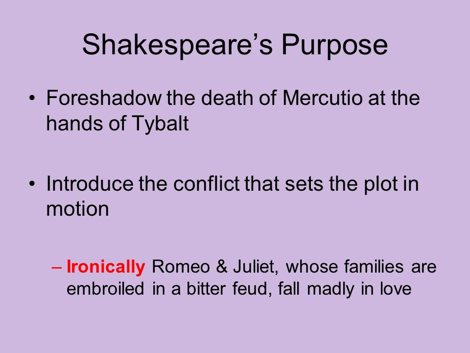 main conflict in romeo and juliet