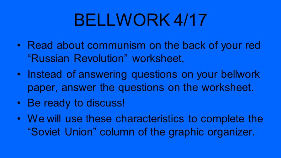 BELLWORK 4/16 List three problems Italy faced post-WWI ...