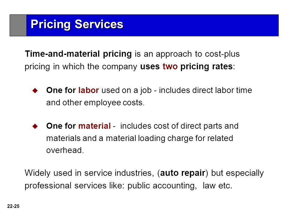 articles related cost plus pricing