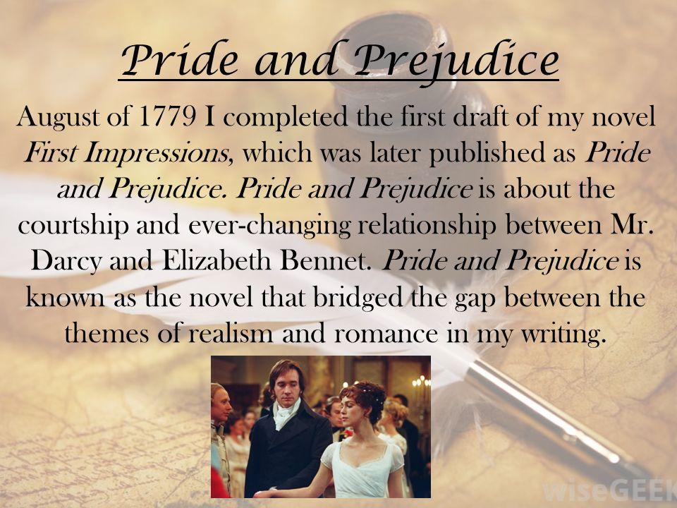 pride and prejudice first impressions