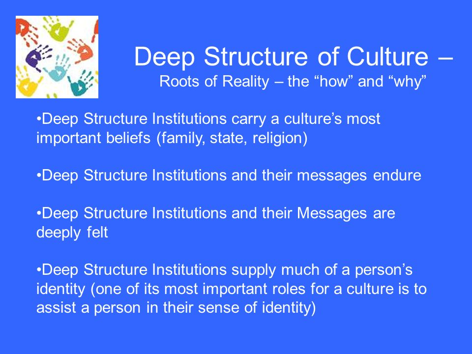 importance of structure and culture on Things like the culture and structure of an organization can influence the  it is  therefore important to identify the factors that can help create an.