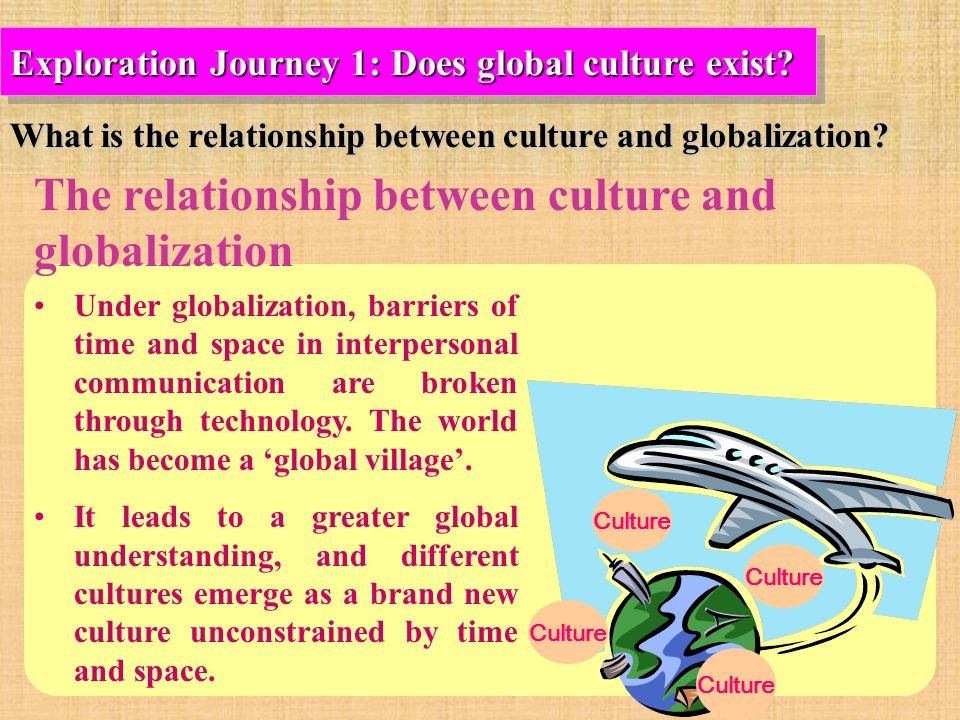 Relationship between Globalization and Education