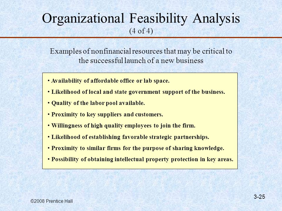 Examples of Business Feasibility Reports