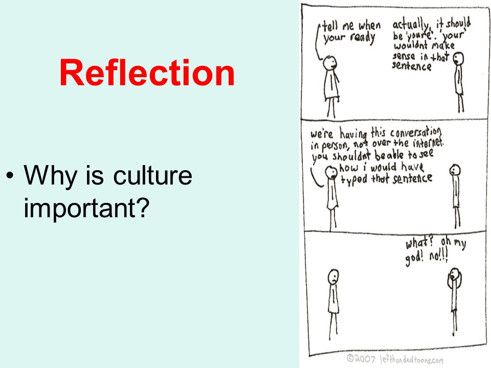 A personal reflection on cultural identity