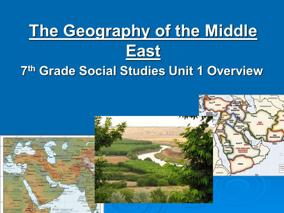 a geography of the middle east
