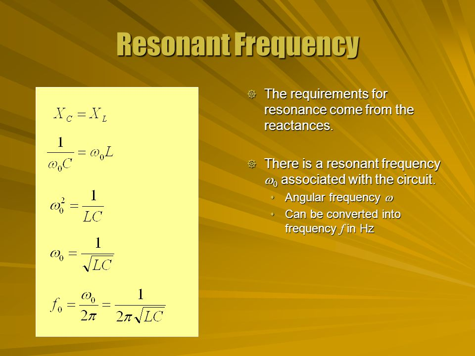 resonant circuit