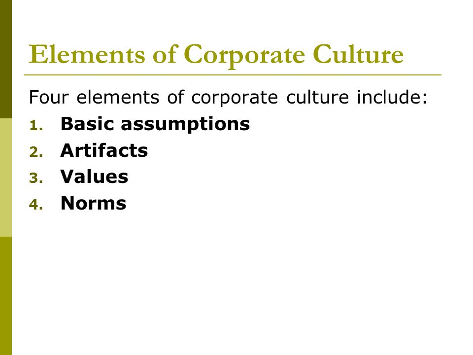toyota organizational culture norms Structure and organizational culture on one hand, and the point of view of the national culture and transitional processes characteristic of the area on the other hand key words: organizational structure, organizational culture, types of organizational.