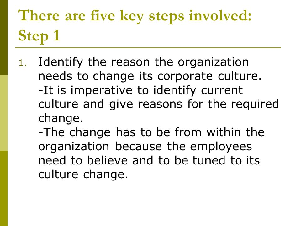 reasons for change within an organisation management essay Although it's not uncommon to be hesitant about change in the workplace, change can actually be a good thing that brings new challenges and opportunities to the forefront the key is in managing change, as well as expectations, and being open to new approaches strong leadership during times of.