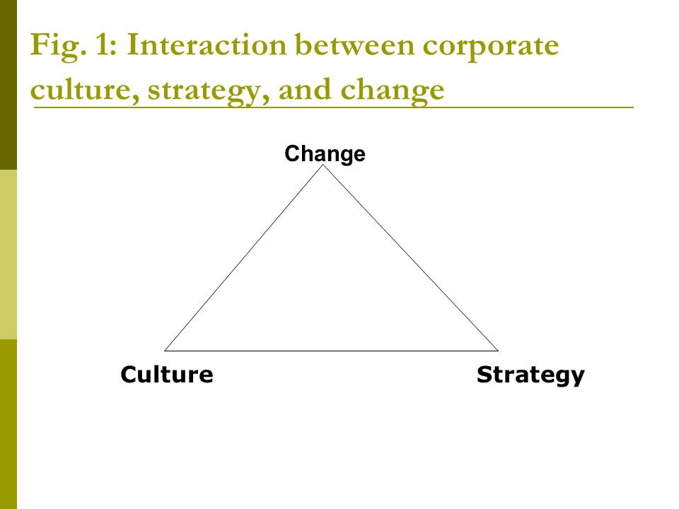 relationship between business strategy and organizational culture In high-performing cultures, employees demonstrate a clear understanding of their organization's strategic priorities and what management values in relation to achieving strategic objectives that aspect has major implications to performance because it is difficult for employees to be supportive of the company's vision and.
