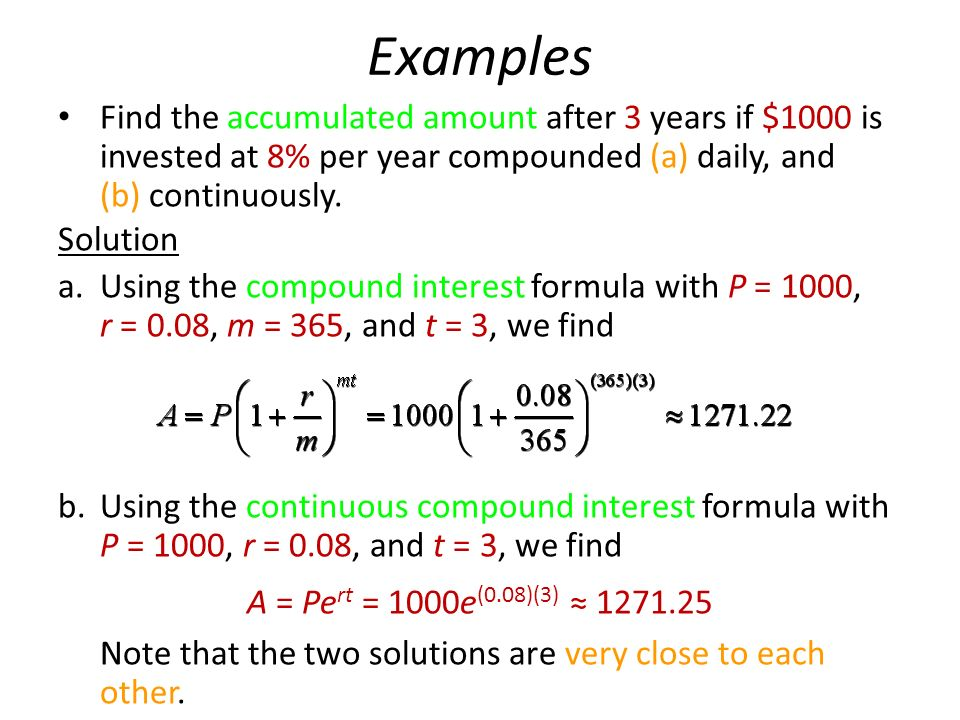 4 Mathematics of Finance Compound Interest Annuities - ppt ...
