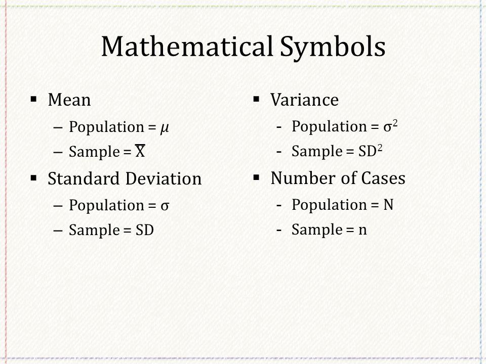 Math Symbols Meanings Yelomphonecompany