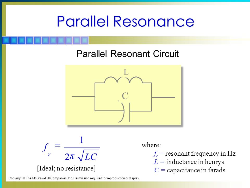 hertz and resonant circuit essay If an alternating voltage with a frequency of f hertz (hz) is connected to the circuit, a reactive  parallel resonant circuit parallel resonant interstage.
