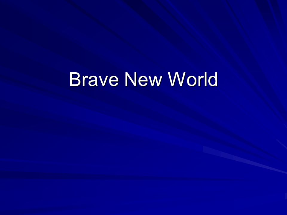 reading log brave new world Brave new world has  this is said as the jobs given to the lowest class are laborious and require no intelligence such as reading or  ( log out.