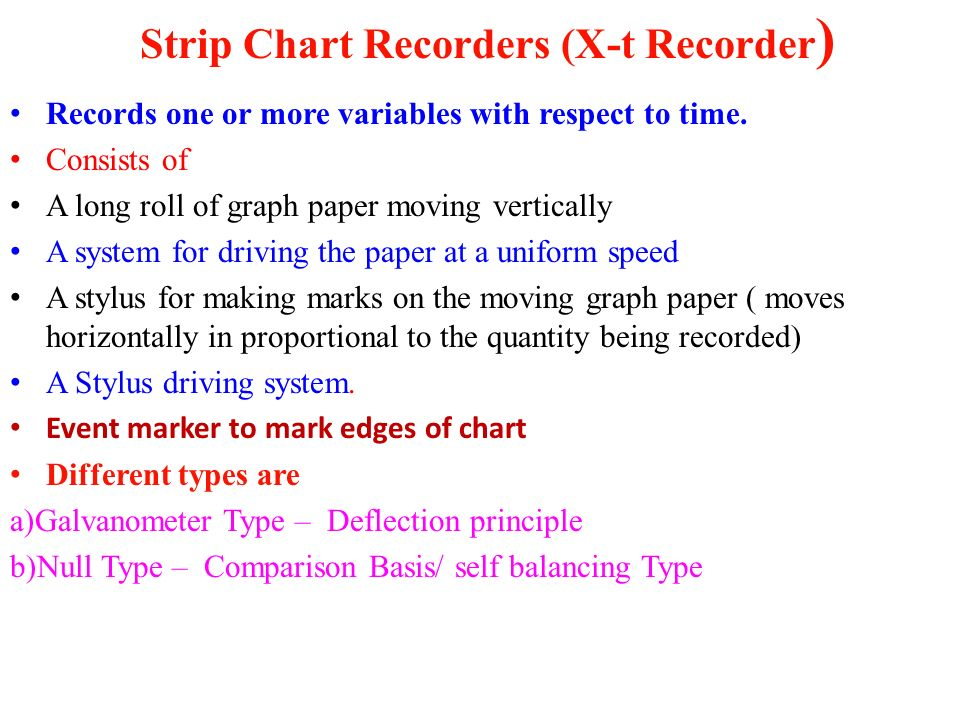 chessel paper recorder strip chart