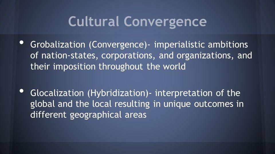 cultural dimensions of globalization pdf