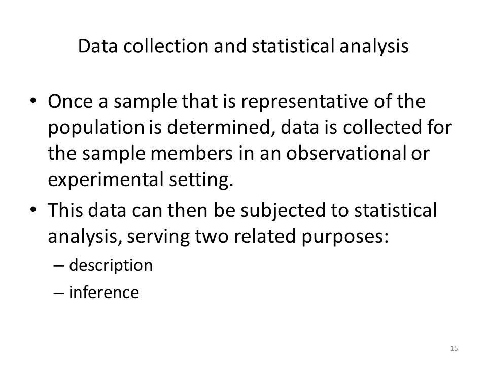 data collection and analysis paper Research methods, data collection and analysis 1you are required to select four journal papers data collection tool, data analysis mechanism and presentation.