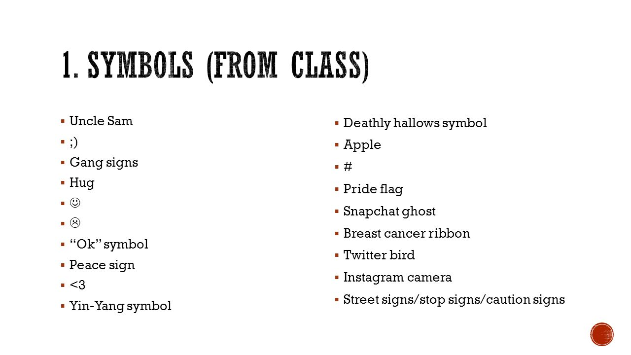 Common gang symbols image collections symbol and sign ideas culture ppt video online download symbols from class uncle sam gang signs hug buycottarizona biocorpaavc