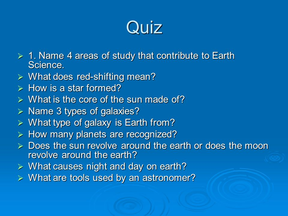 What is Earth Science? - Video & Lesson Transcript | Study.com