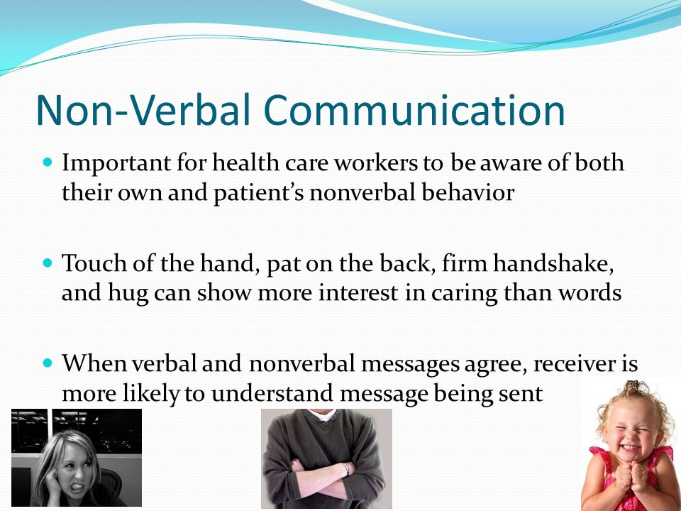 the importance of communication verbal and nonverbal One of the most crucial aspects of nonverbal communication is its ability to strengthen verbal communication for example, if you tell your spouse you love him and then you follow up your oral communication with loving and endearing actions, the message of love is strengthened.