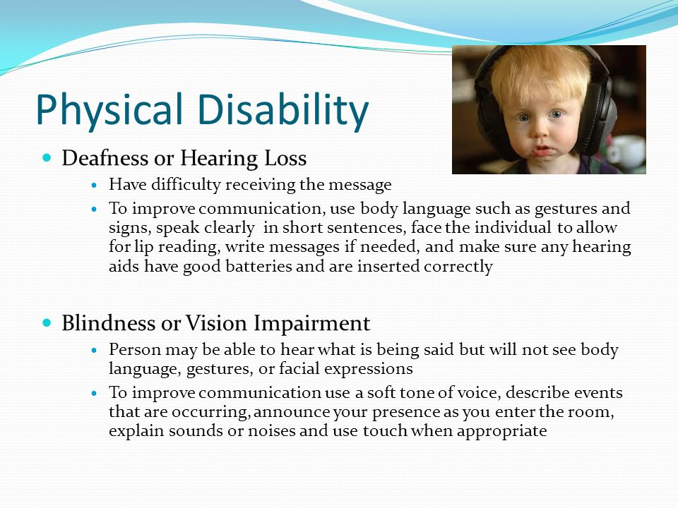 Physical Accommodations For People With Disabilities Essay
