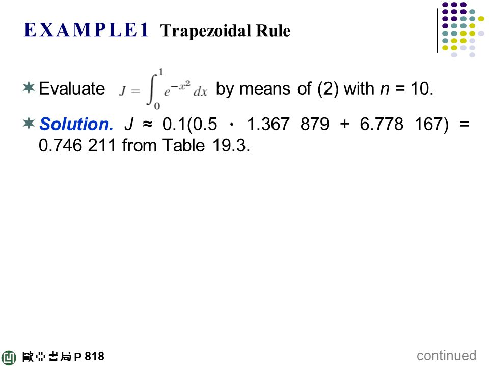 how to find error bounds for trapezoidal rule