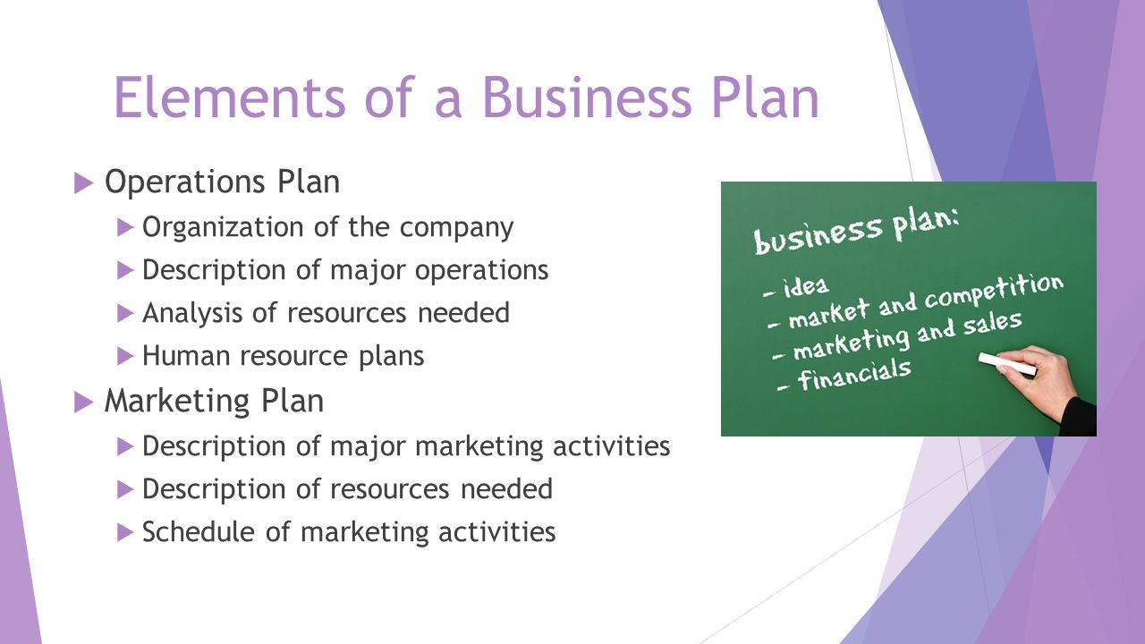 Elements farm business plan