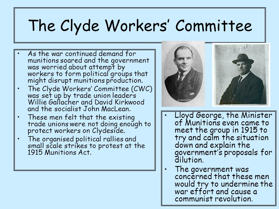 The Clyde Workers' Committee