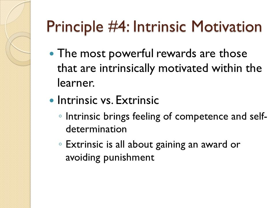 motivation and intrinsically motivated learners 2014-3-10  motivation and gifted students: implications of theory and research  people who are highly intrinsically motivated to learn are  gifted learners may become.