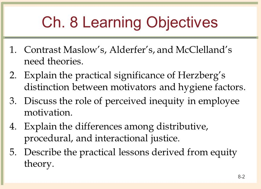 difference between content and process theories of motivation pdf