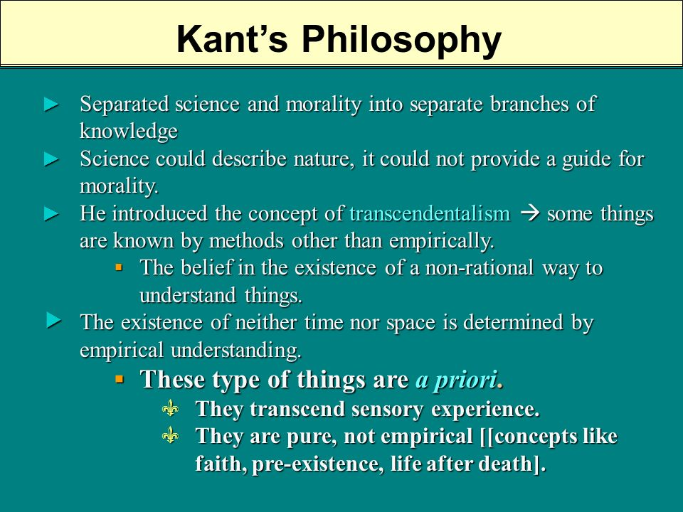 kant demonstration of moral law to be a priori