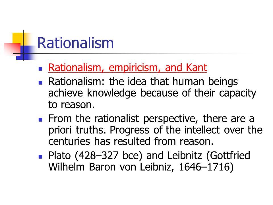 extreme rationalism essay