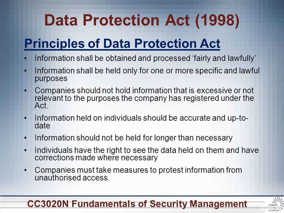 data protection act principles in childcare Guide to the general data protection regulation (gdpr)  principles lawfulness, fairness and transparency  together with the new data protection act 2018 (dpa .