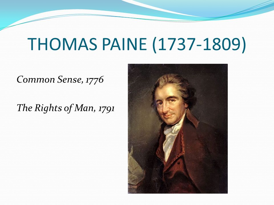 ben franklin and thomas paine essay Thomas paine (or pain february 9 benjamin franklin and others paine's honorary citizenship was in recognition of the publishing of his review essay.