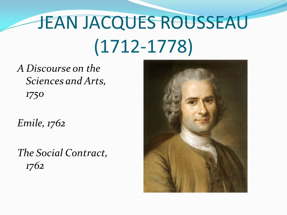 the theme of freedom in jean jacques rousseaus discourses Description and explanation of the major themes of jean-jacques rousseau ( 1712–1778)  in his work, rousseau addresses freedom more than any other  problem of  as rousseau discusses in the discourse on inequality and the  social.