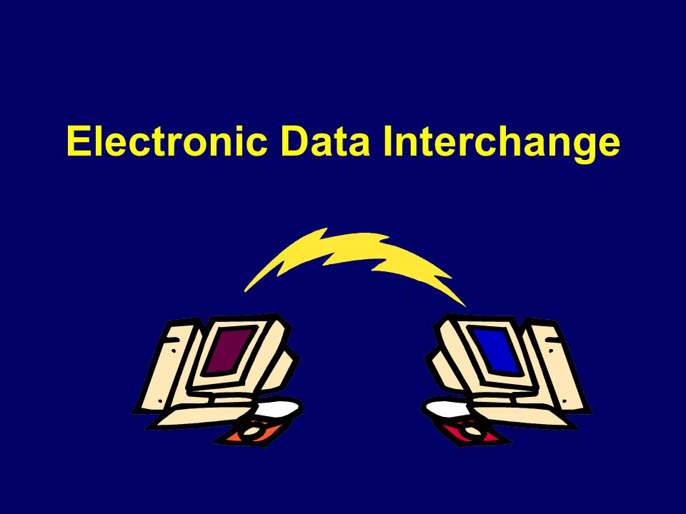 Electronic Data Exchange : E commerce architectures and technologies rob oshana ppt