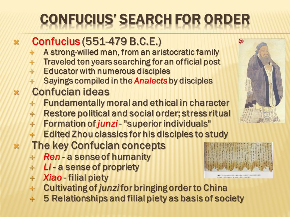 an analysis of the idea of confucianism in korea Confucius: and the world he created  korea, singapore, japan  the idea that elements of confucianism as we understand it were promoted by.