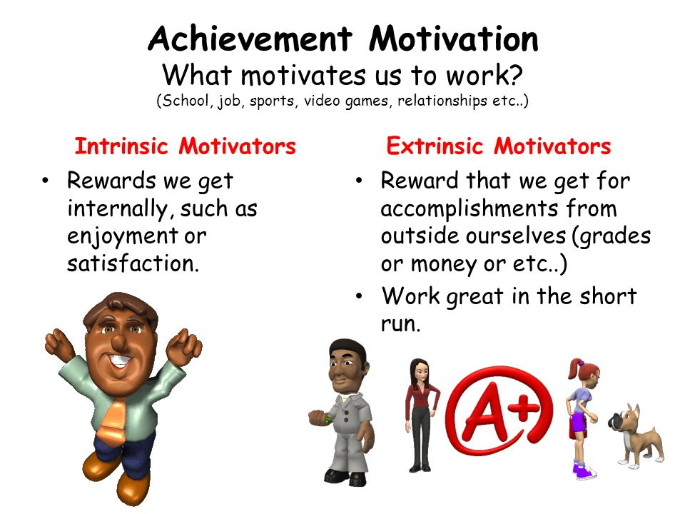 extrinsic motivation essay Search essay examples intrinsic motivation essay examples 6 total results the difference between intrinsic and extrinsic motivation 328 words 1 page.