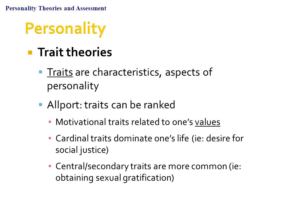 central traits