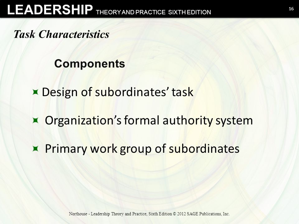 subordinate characteristics This study investigated the contribution of both subordinate and leader characteristics in the development of leader-member exchange (lmx) quality.