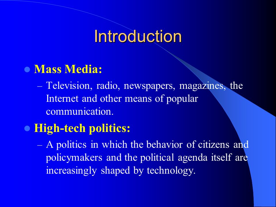 high tech in politics High tech is actually a subset of smaller groups that do lobby congress as such there is no unified high tech group to speak of intel is in the manufacturing business and r&d business microsoft is in the software business google is in the advertising business.