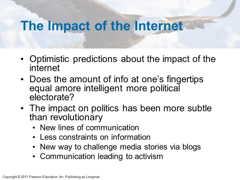 Impact of internet and media on