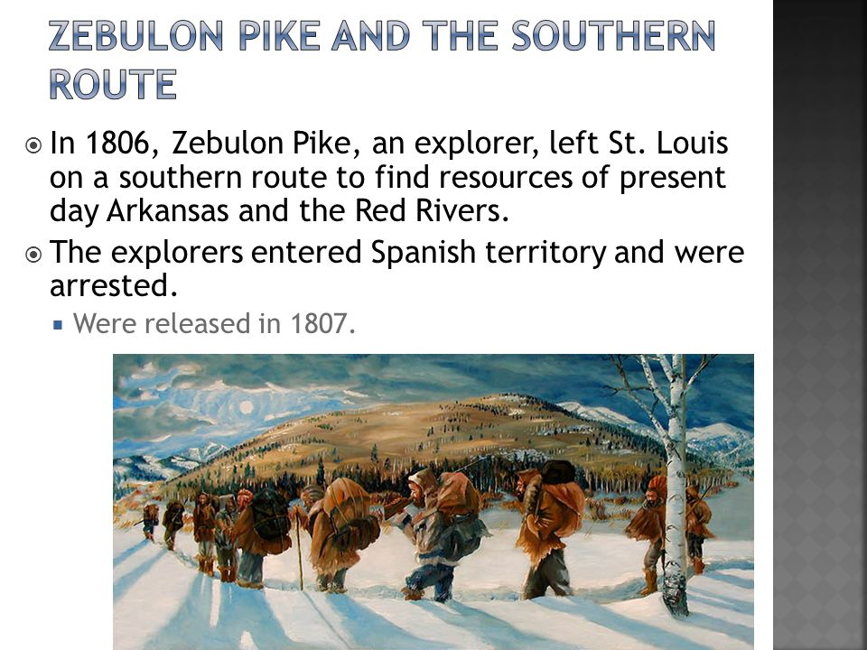 Zebulon Pike and the Southern Route