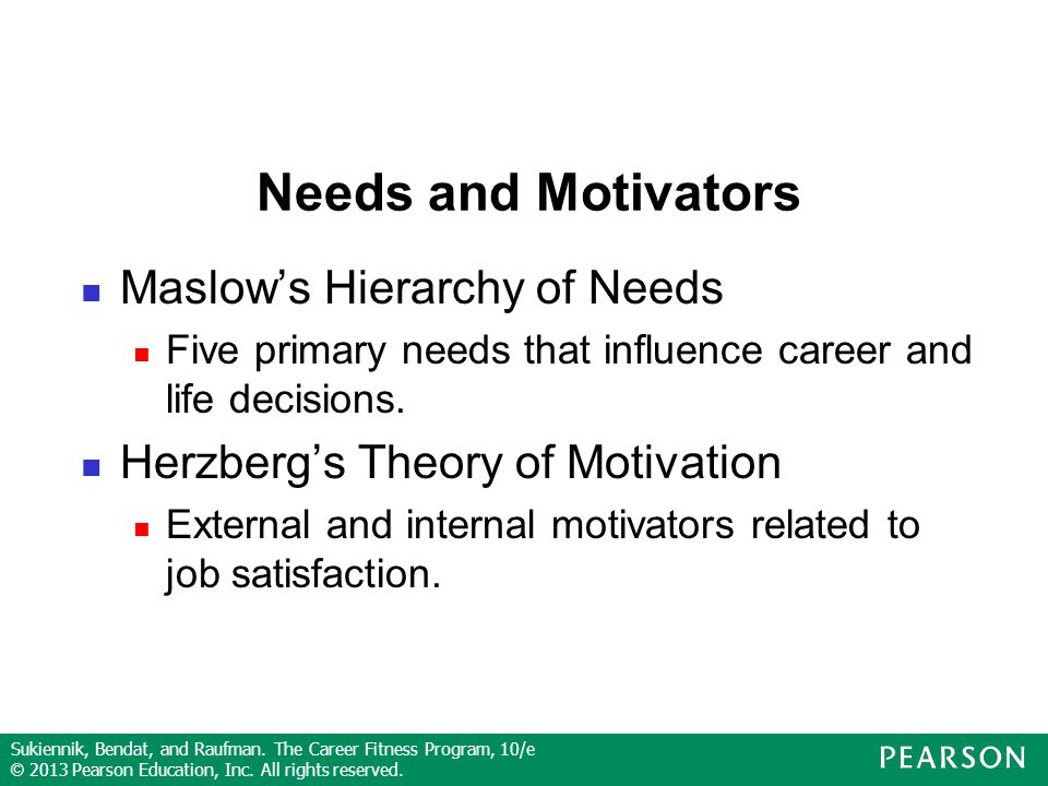maslow hierarchy of needs and job satisfaction Consolidate the theoretical concept about job satisfaction keywords: employees  job  abraham maslow's need hierarchy theory (1943) abraham maslow.