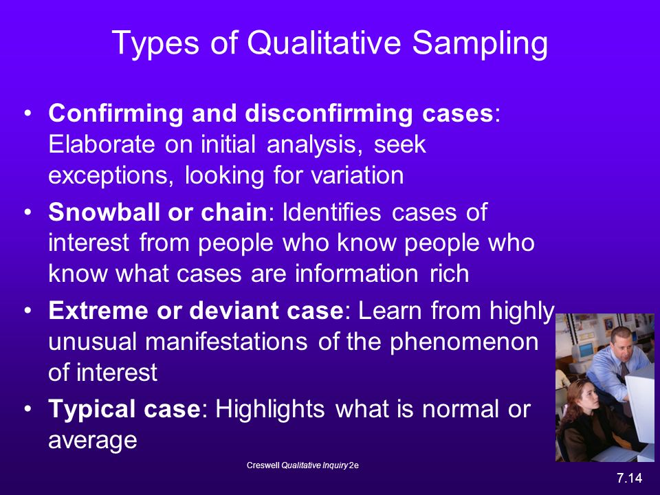 types of sampling in qualitative research